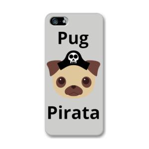 Funda de iphone (todos los modelos) con Diseño Perro Pirata