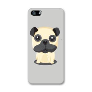 Funda de iphone (todos los modelos) con Diseño Perro Sentado