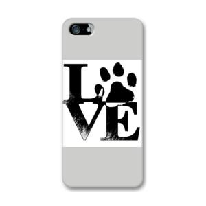 Funda de iphone (todos los modelos) con Diseño Love Huella