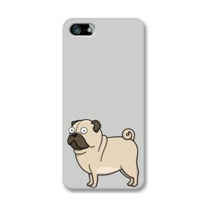 Funda de iPhone (todos los modelos) Diseño gracioso de Perro Pug Carlino caricatura
