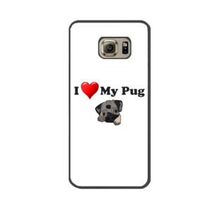 Funda de samsung (todos los modelos) Diseño I Love My Pug
